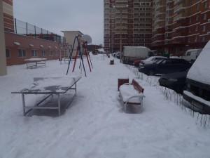 Госадмтехнадзор следит за уборкой снега и льда во дворах